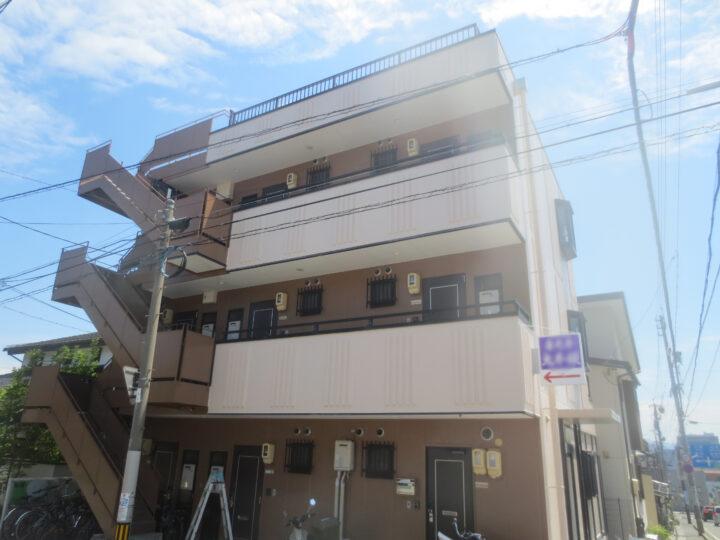 長野市U様 アパート外壁・屋根塗装工事