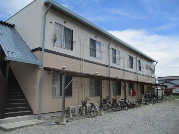 上田市 信州ハム様研修寮 外壁・屋根塗装工事