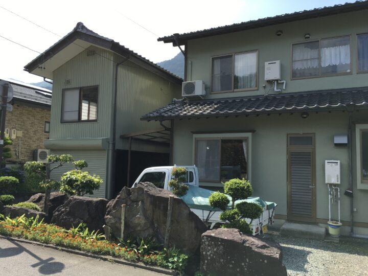 坂城町K様 母屋・車庫外壁塗装工事