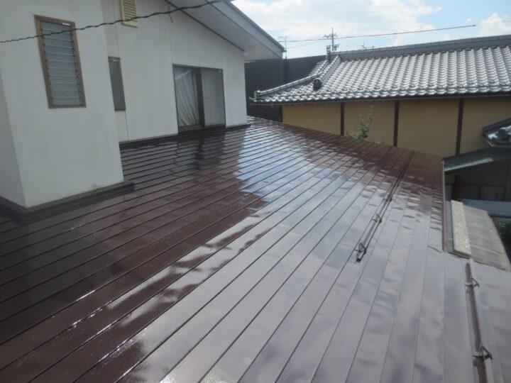 長野市M様 屋根・付帯部塗装工事