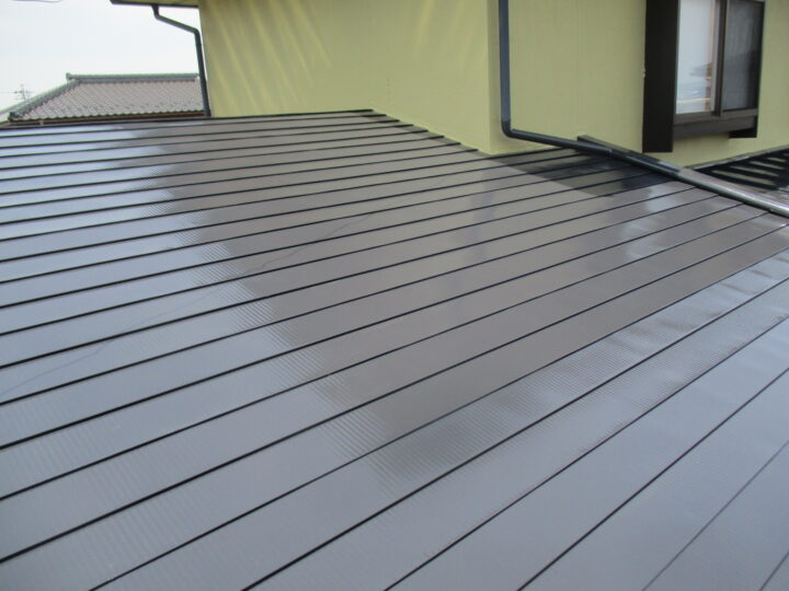 須坂市S様 屋根塗装工事