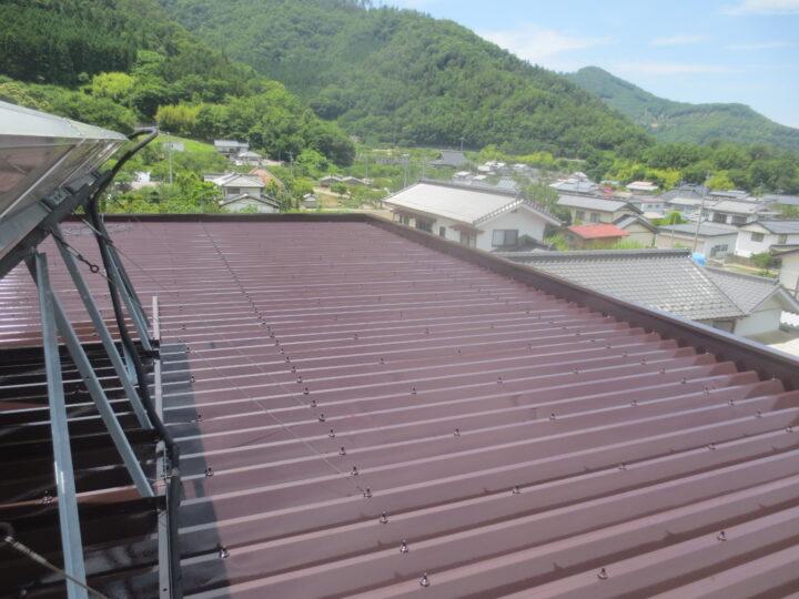 千曲市M様 屋根塗装工事