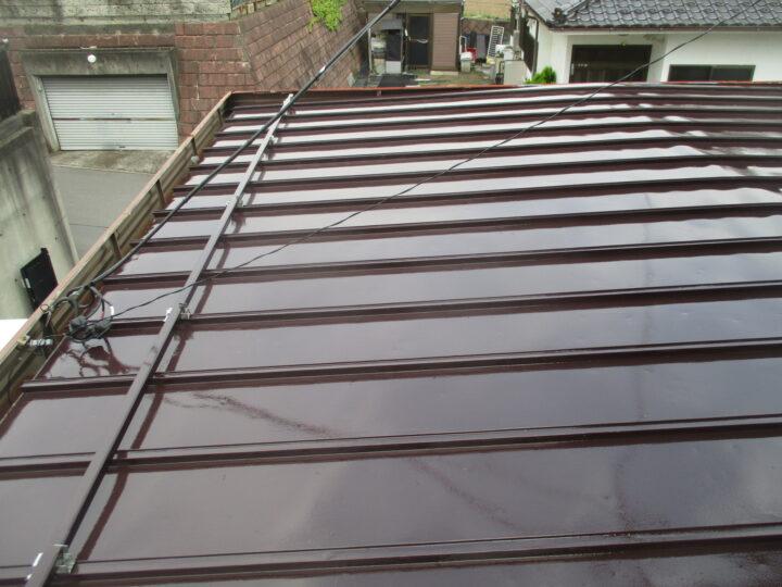 東御市K様 屋根塗装工事