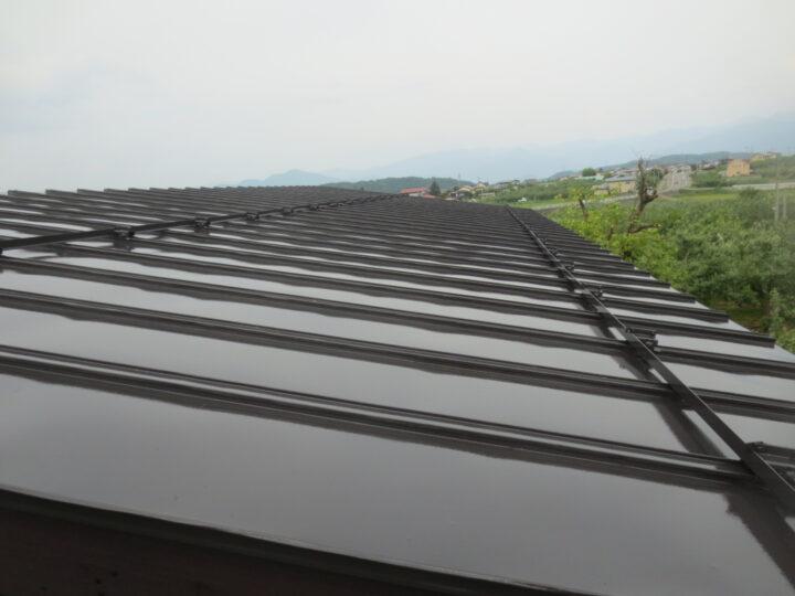 飯綱町S様 屋根塗装工事