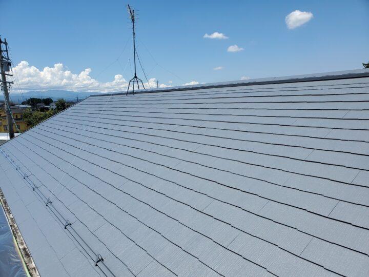 佐久市 アパート屋根塗装工事