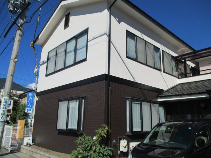 上田市K様 外壁塗装工事