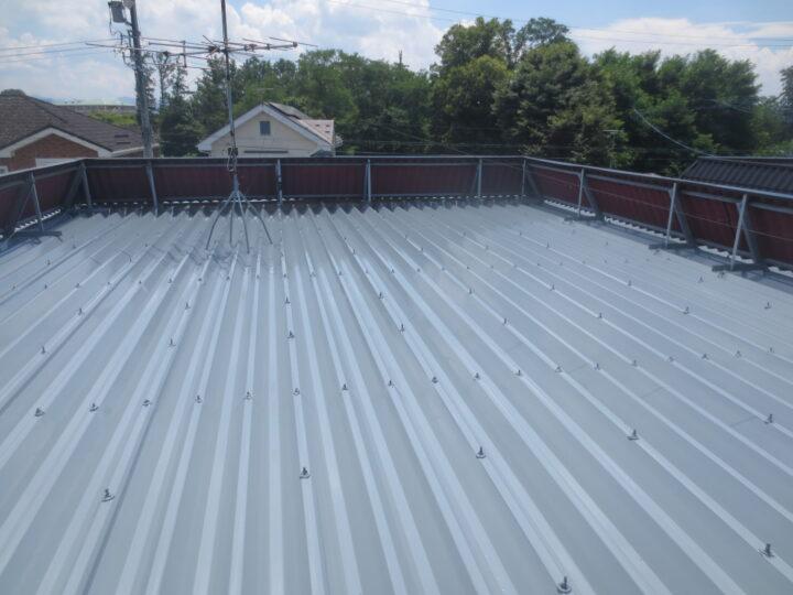 小諸市 アパート屋根塗装工事