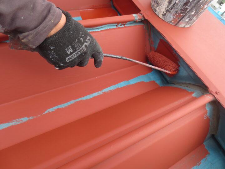 下塗り/屋根