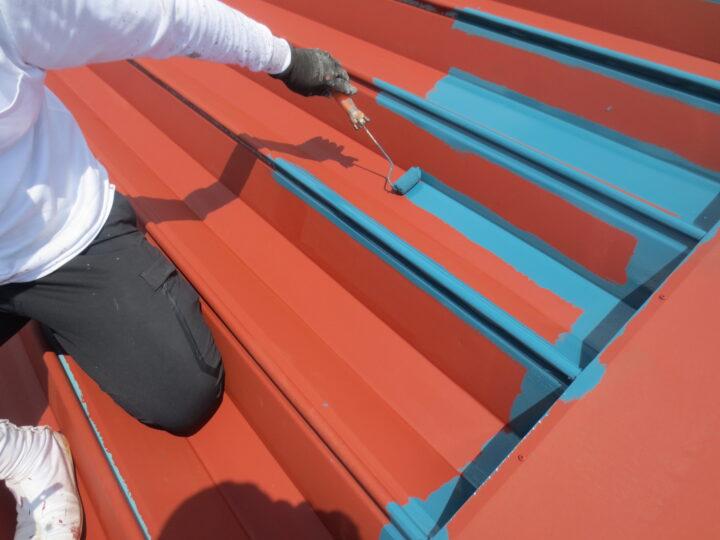 上塗り/屋根