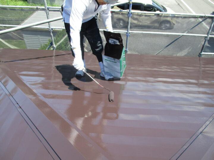 屋根塗装 2回目