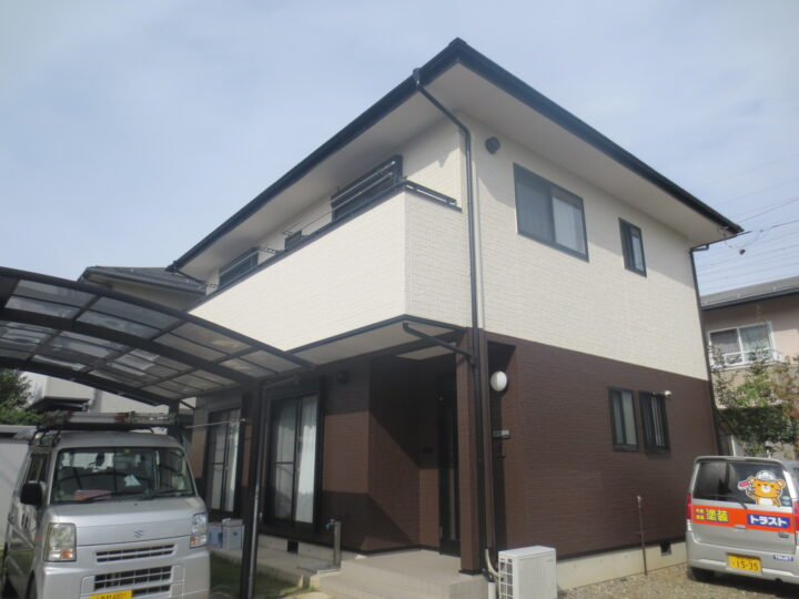 長野市M様 外壁・屋根塗装工事