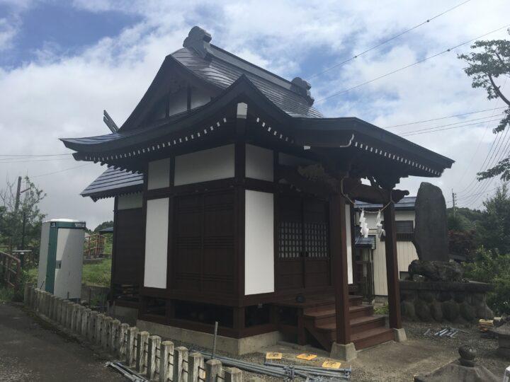 信濃町 神社 外壁・屋根塗装工事