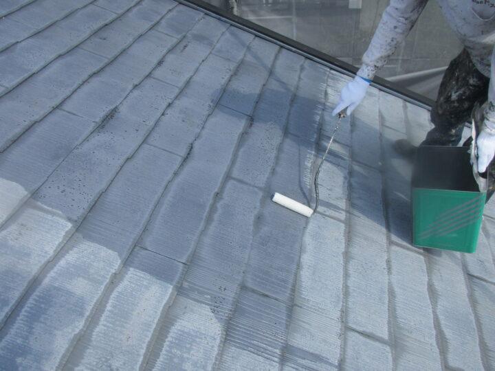 屋根【下塗り】