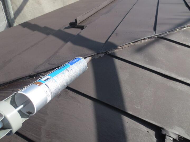 屋根雨漏れ補修