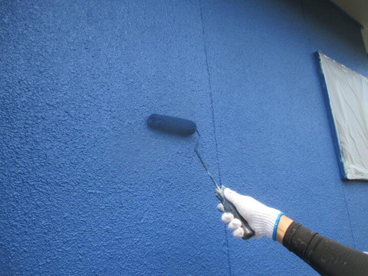 外壁塗装【上塗り】