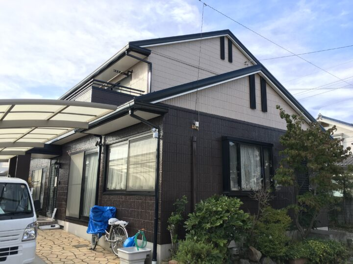 上田市A様 外壁・屋根塗装工事