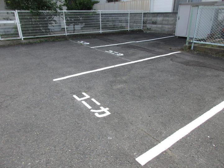 長野市Y様 駐車場ライン引き工事